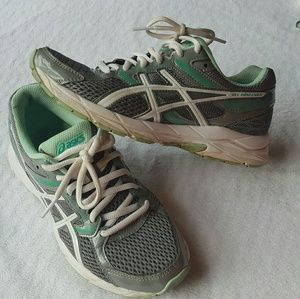 ASICS Gel-Contend 3 Running Sneakers Women's 6 gre